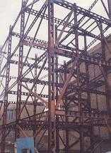 دانلود pdf پروژه  سازه فلزی سه طبقه رشته عمران رایگان